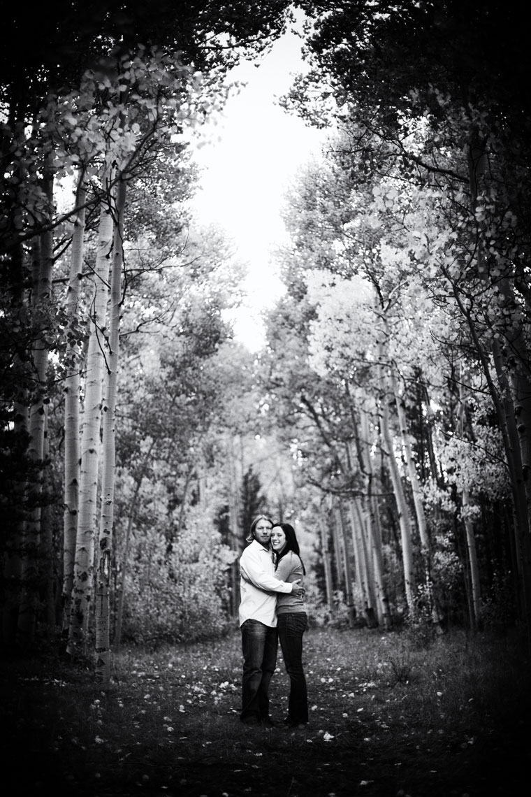 Kenosha Pass Engagement Photographer