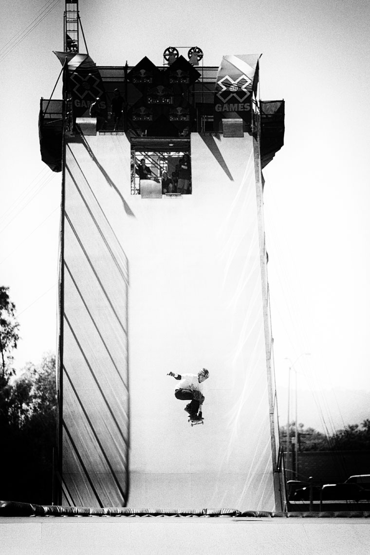 Summer X Games Action sports photographer
